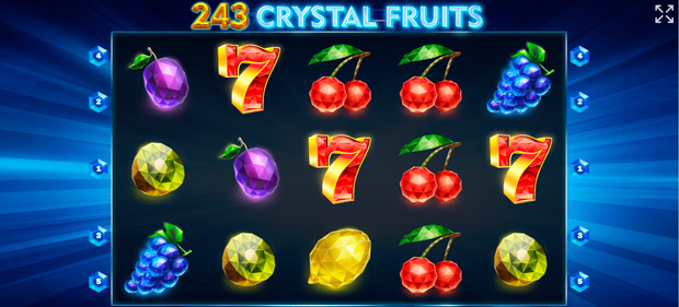 интерфейс слота Crystal Fruits